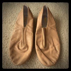 Bloch split sole jazz shoe